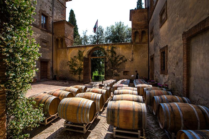 Wijngaarden Nero d'Avola Sicilie Italie