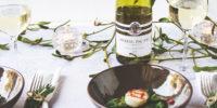 Coquilles met Asperges en Doperwtenpuree Voorgerecht Kerst - Wairau Sauvignon Blanc Nieuw-Zeeland 2