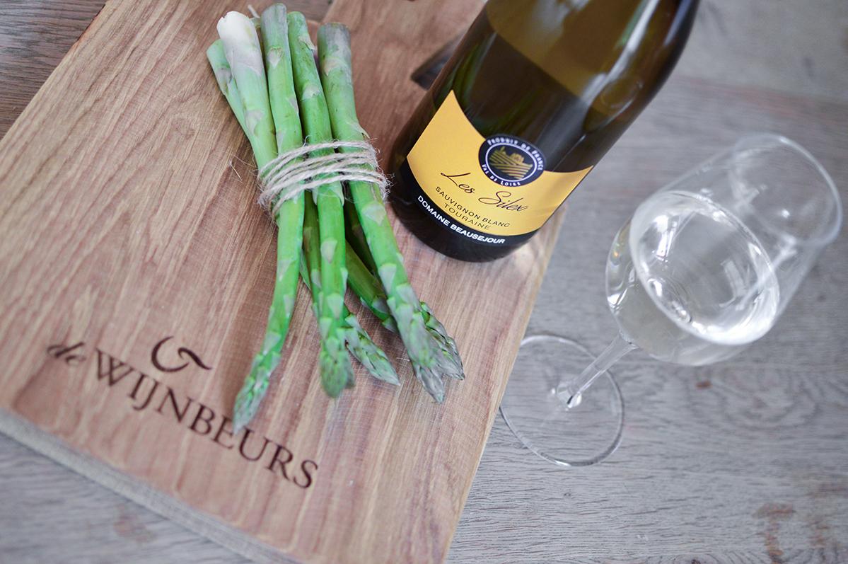 Groene asperges Touraine Sauvignon Blanc